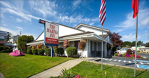 Marina Inn Lodging Anacortes Washington